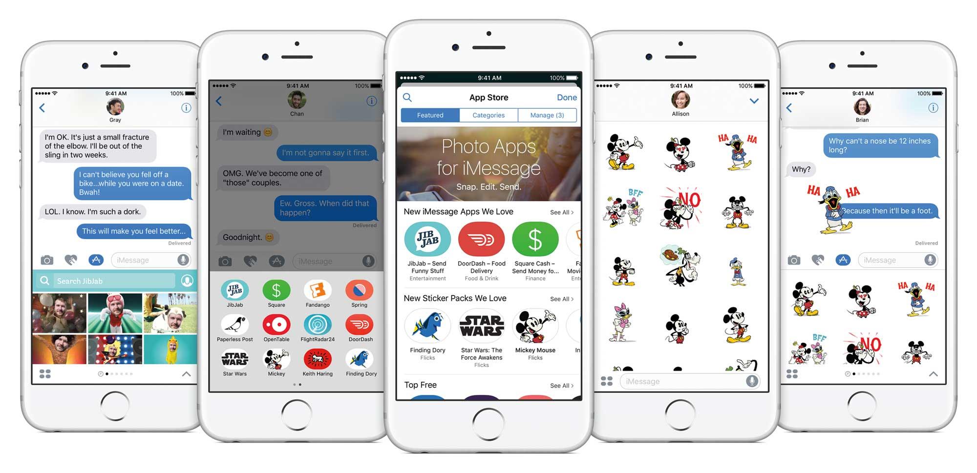 iOS 10 Message Updates