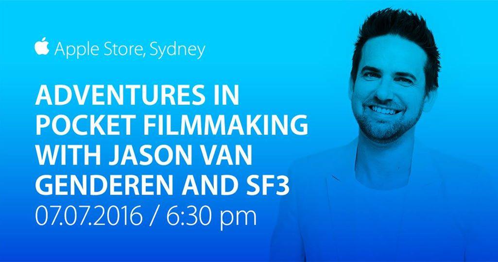 iPhone Filmmaking Masterclass with Apple, SF3 & Jason van Genderen