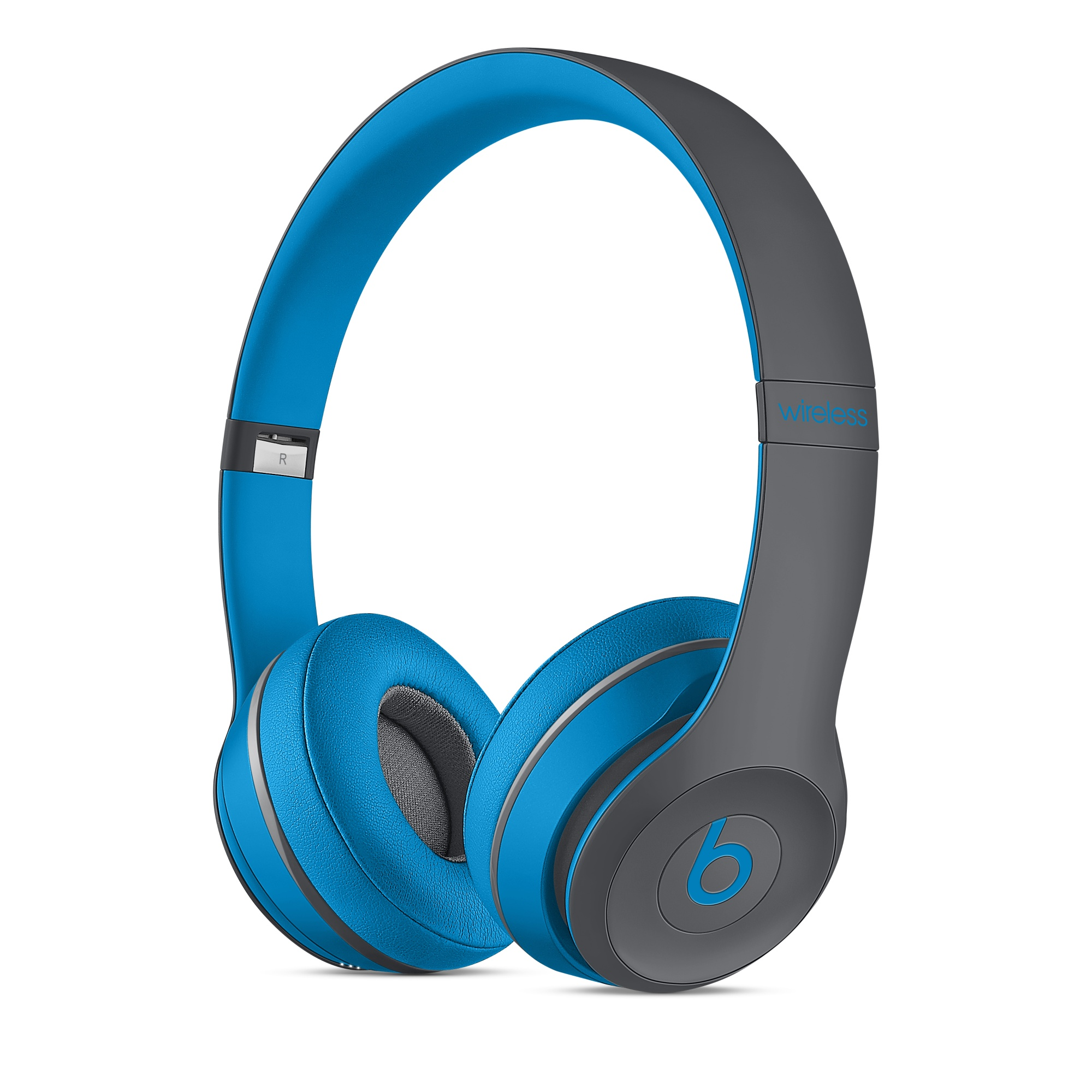 Beats Solo2 Wireless On-Ear Headphones, Active Collection - Flash Blue