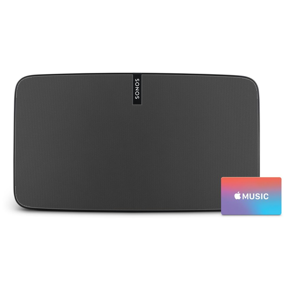 Sonos Play 5 Wireless Speaker With Apple Music Gift Card