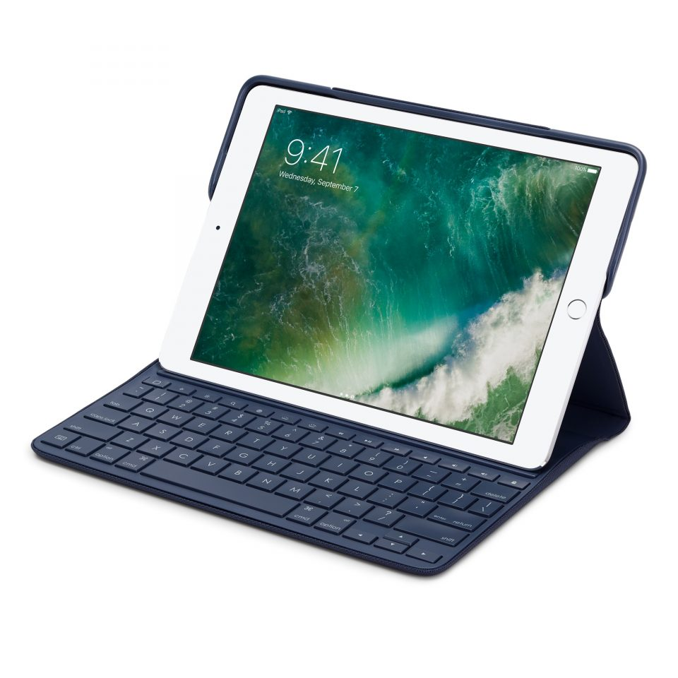 Logitech CREATE Backlit Keyboard Case for 9.7-inch iPad Pro – Blue