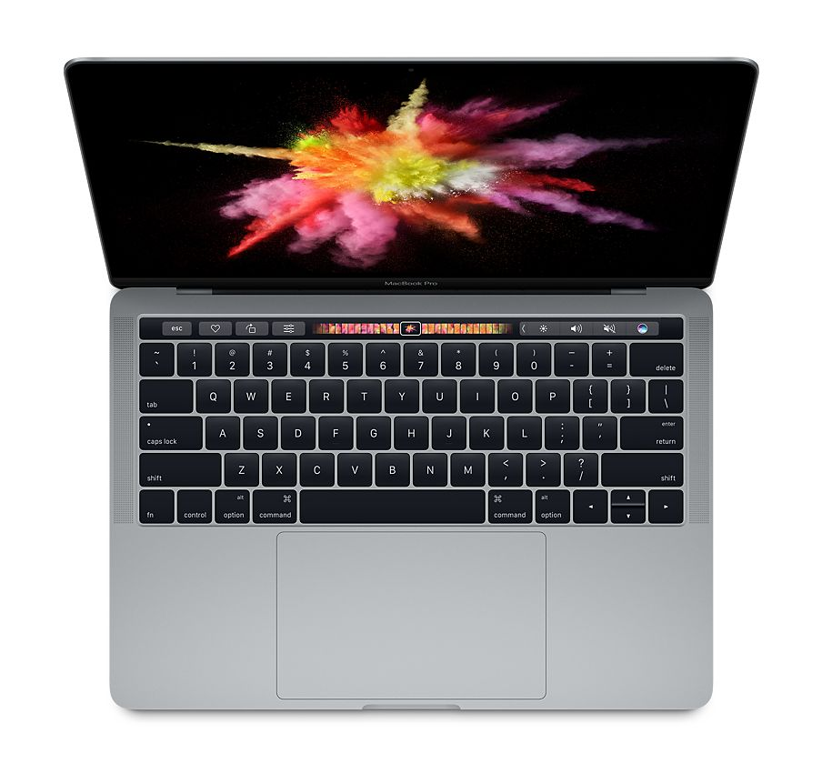 New 13-inch Apple MacBook Pro with Touch Bar and Touch ID 2017
