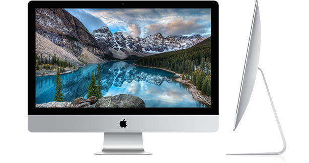 new iMac 27-inch with 5k Retina Display