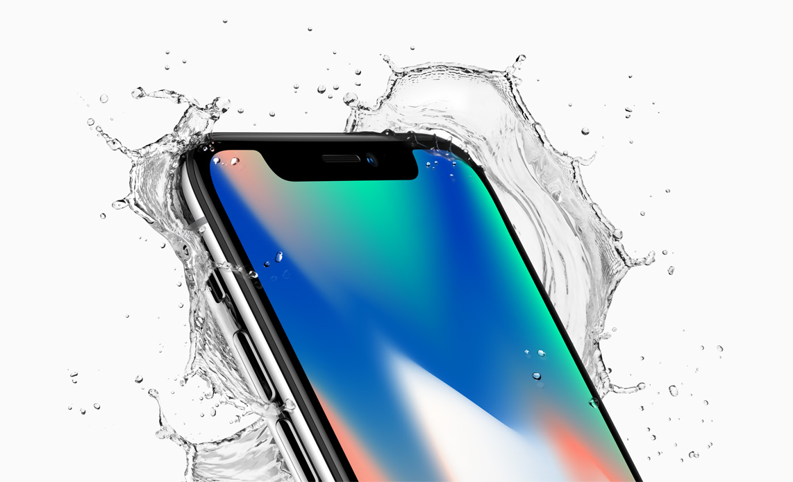 Apple iPhone X Australia splash