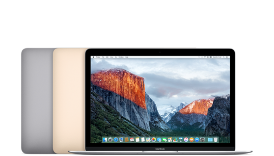 Late 2015 MacBook 12-inch