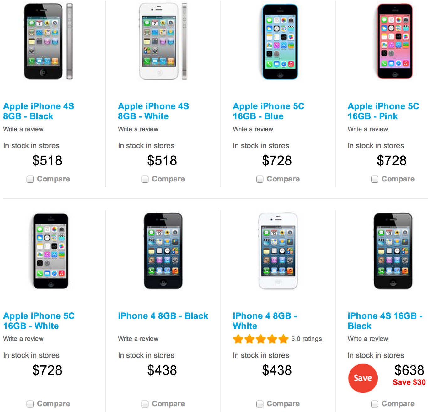 Big W Now Selling IPhone 5c Models 728