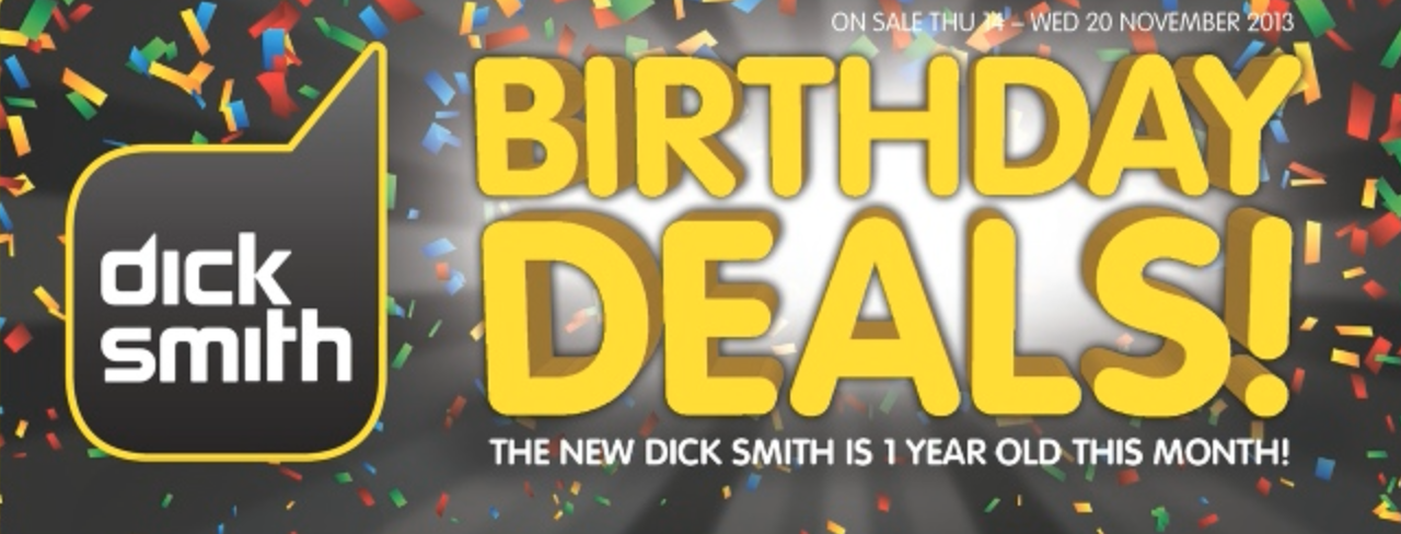 dick smith sale november