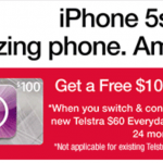 JB Hi-Fi iPhone 5s Contract