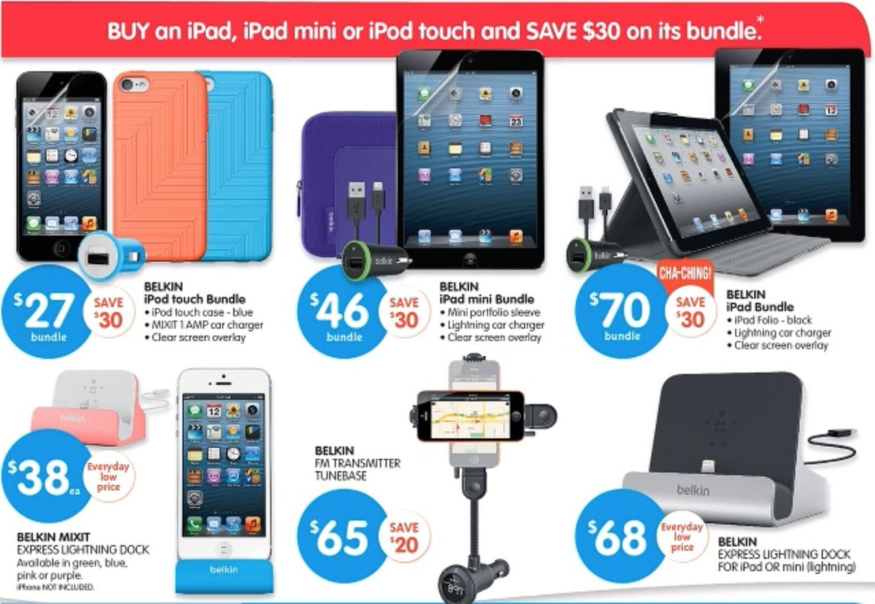 iPad iPod Touch bundle Big W