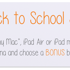 MAC1 Back To School Sale