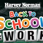 Harvey Norman 2014 back to school & work sale