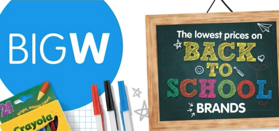 Big W continues their Back To School Sale - Mac Prices Australia