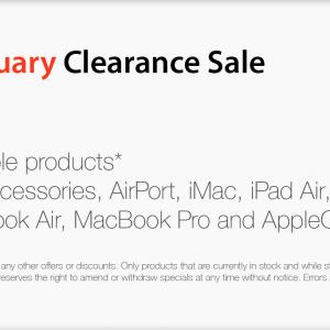 MAXstyle Pty Ltd January Sale