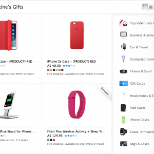 Apple Valentines Day Accessories
