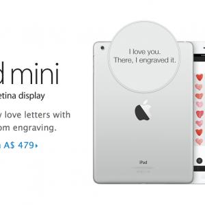 iPad Mini Valentines Day