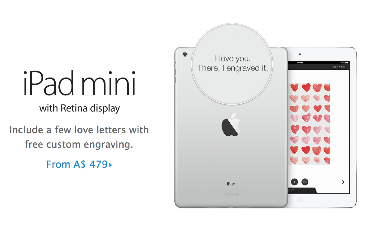 iPad Mini Valentines Day