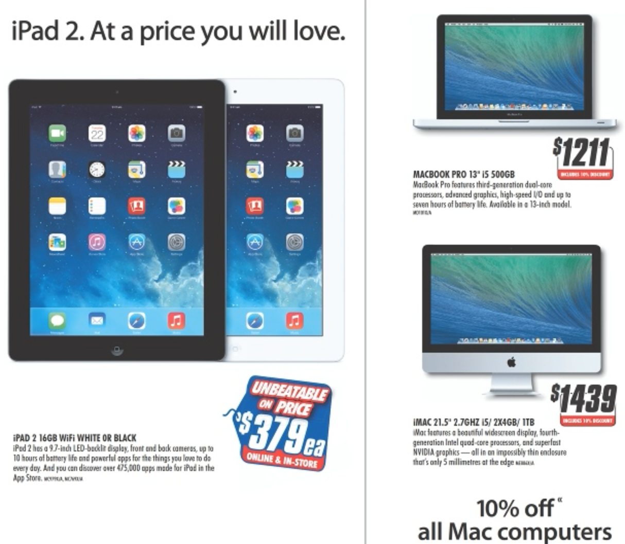The Good Guys Mac offer February 2014