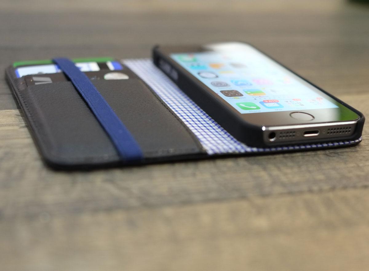 Toffee iPhone 5s flip wallet