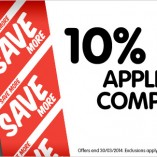 10% off Apple March