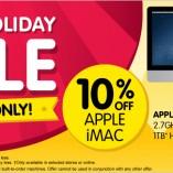 Dicksmith Apple sale anzac weekend