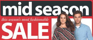 Myer Mid Season Sale