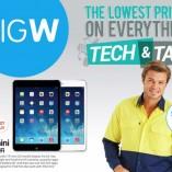Big W tech tax sale
