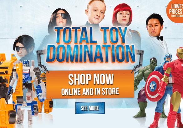 Big W toy sale 2014