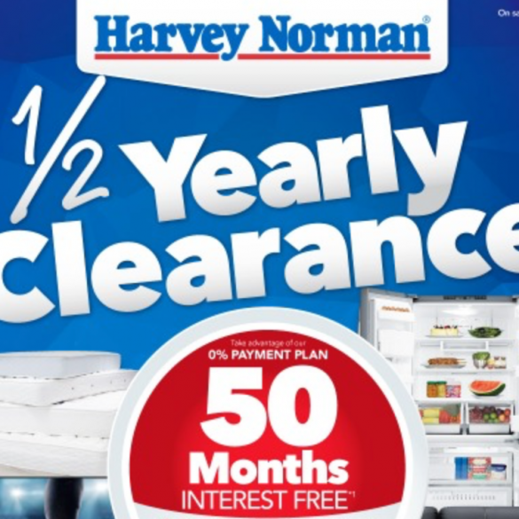 Harvey Norman mid year sale