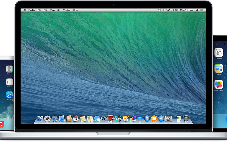 Apple product banner
