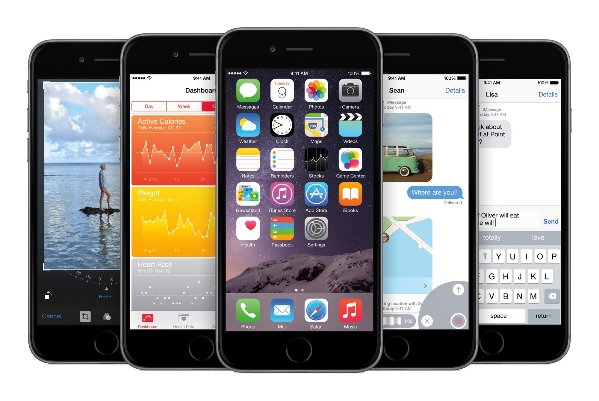 iOS 8 Australia