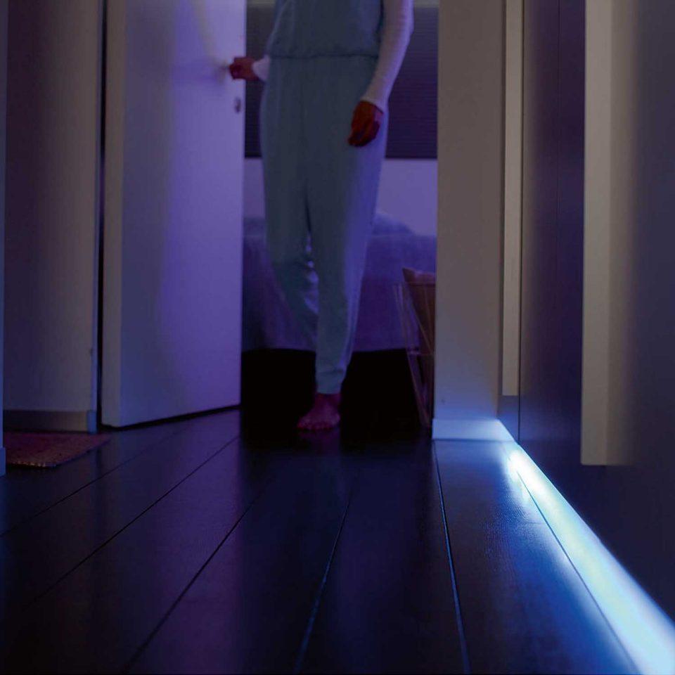 Philips Hue HomeKit Light Strip Inside Home