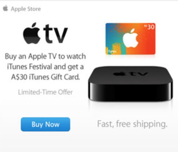 Apple TV Promotion