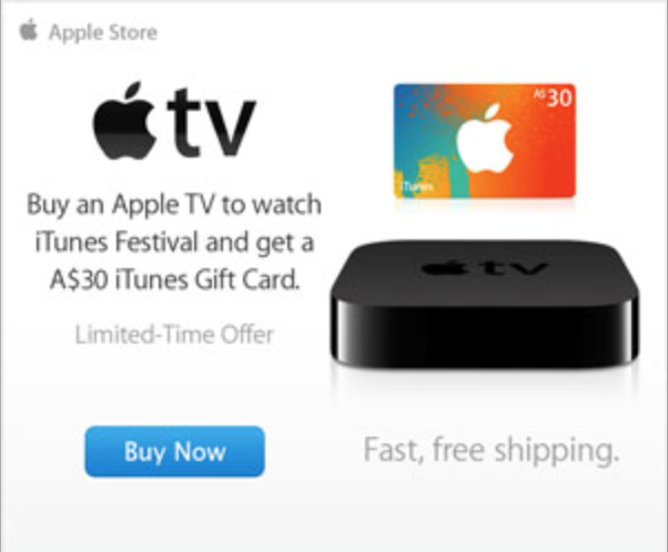 Apple TV Promotion