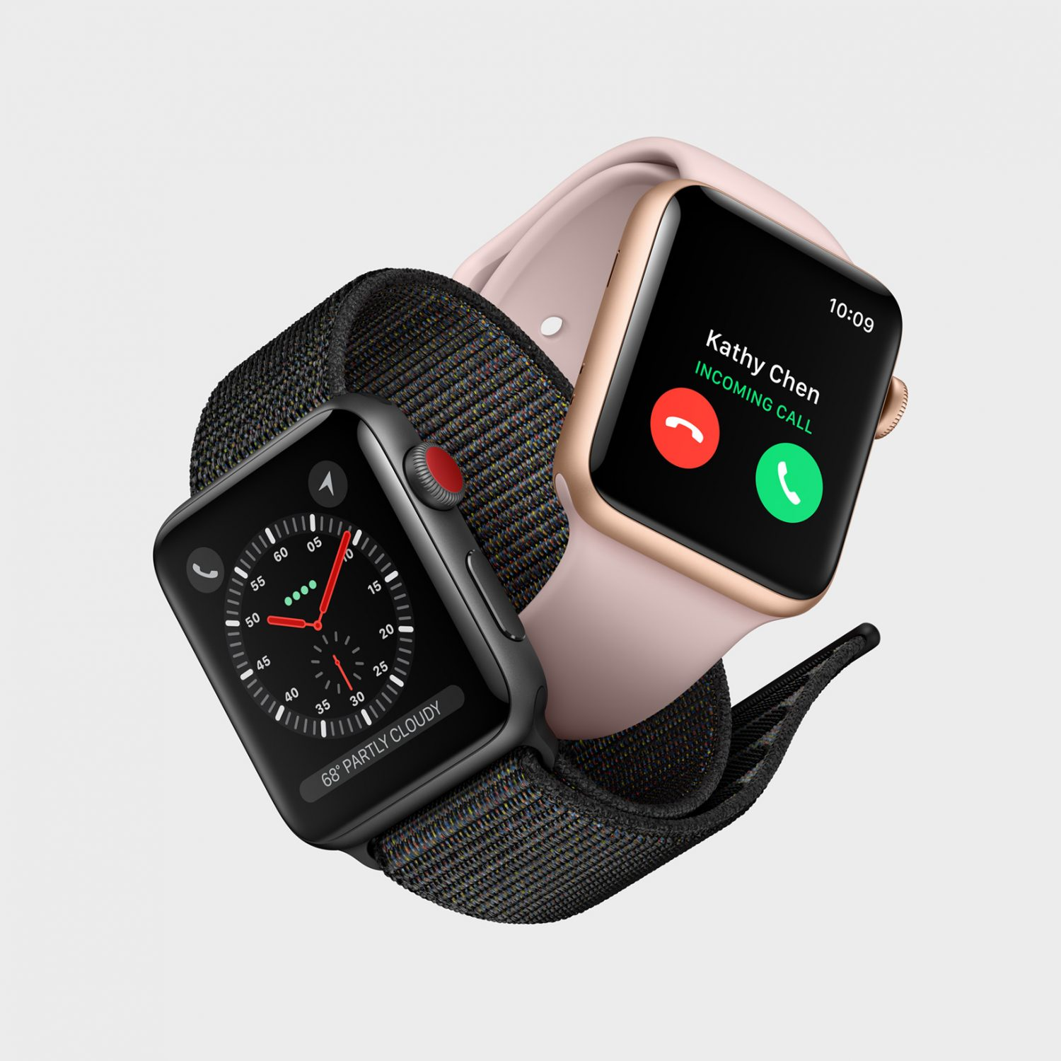 Apple Watch Series 3 Space Grey and Rose Gold Australia