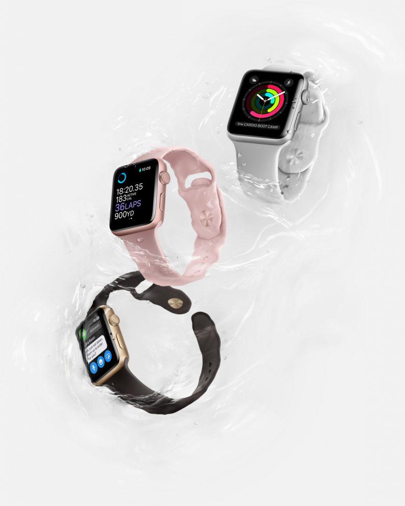 Apple Watch Series 2 Water Resistance