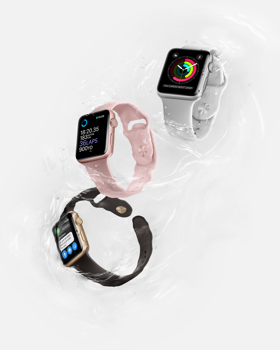 Apple Watch Series 2 Water Resistance