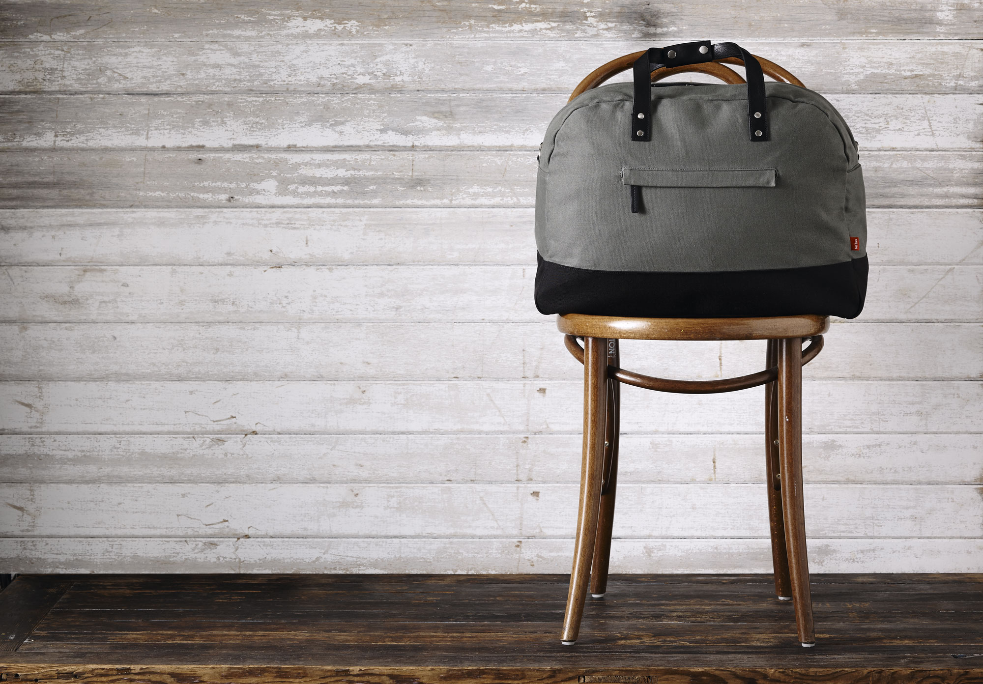 Toffee canvas travel bag for MacBook
