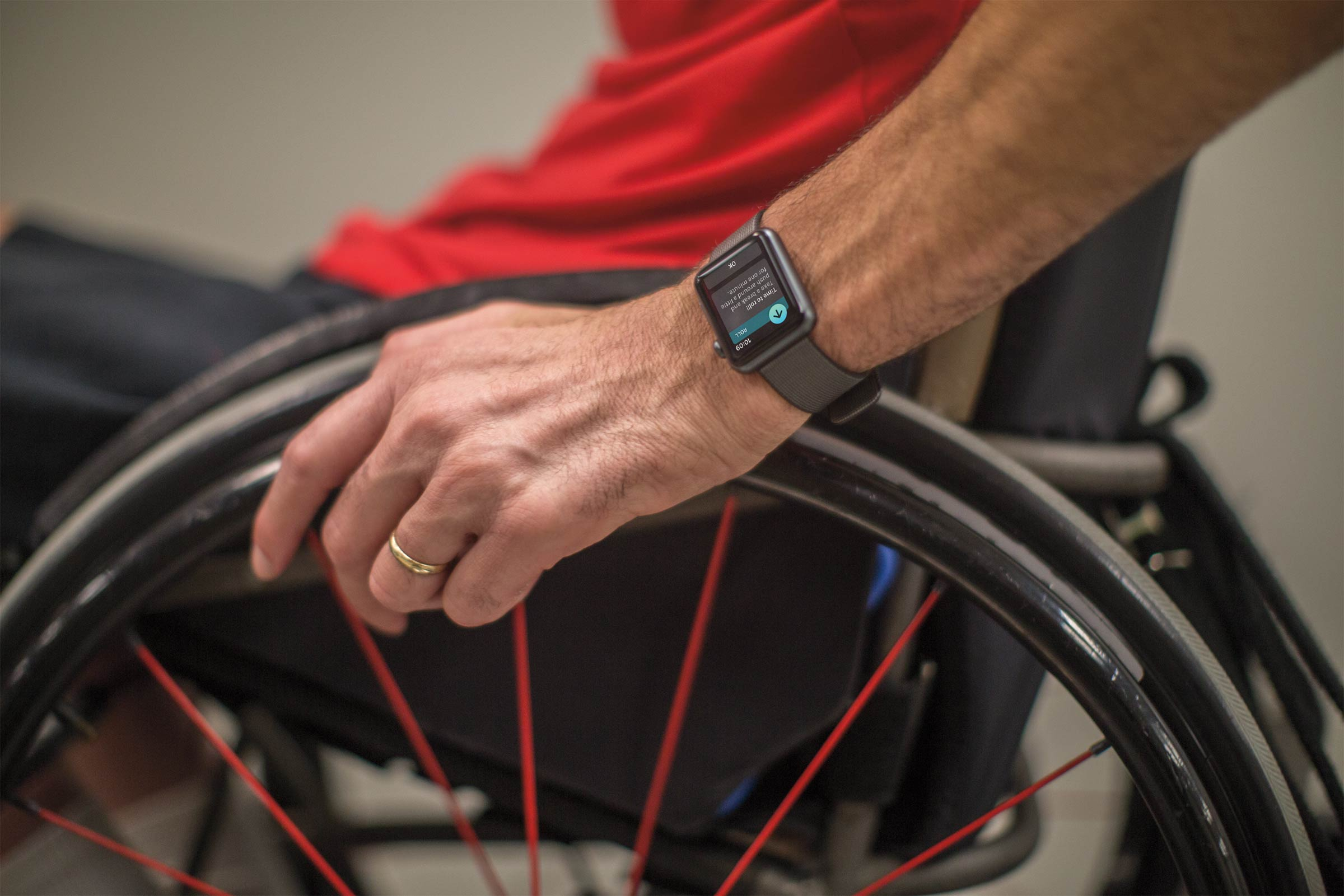 Apple Watch Wheelchair