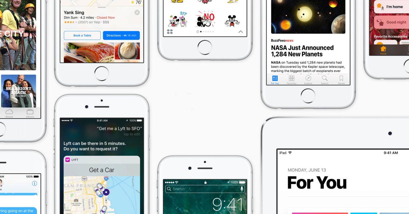 Apple iOS 10 Update