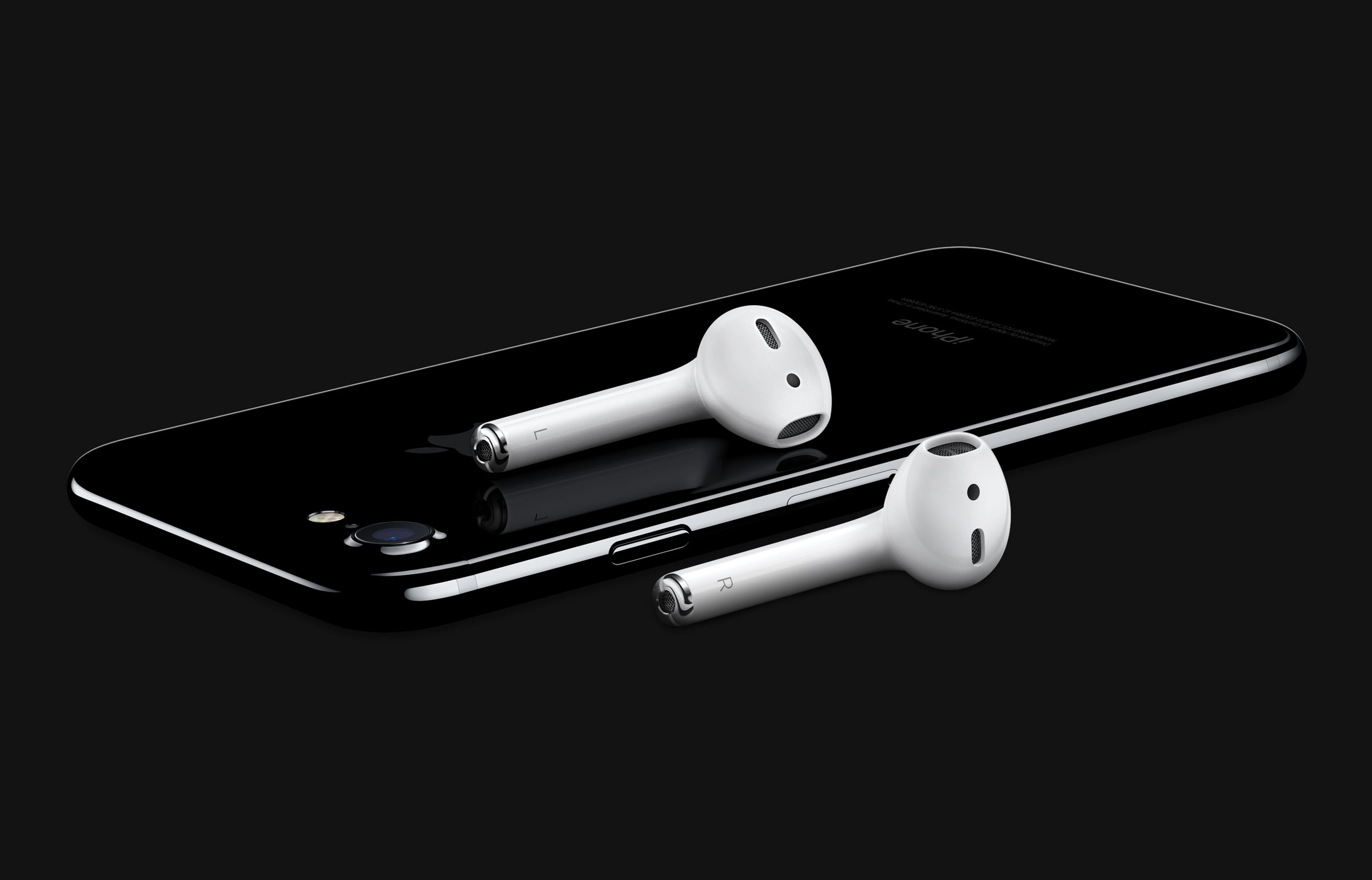 Apple AirPods iPhone 7 JetBlack