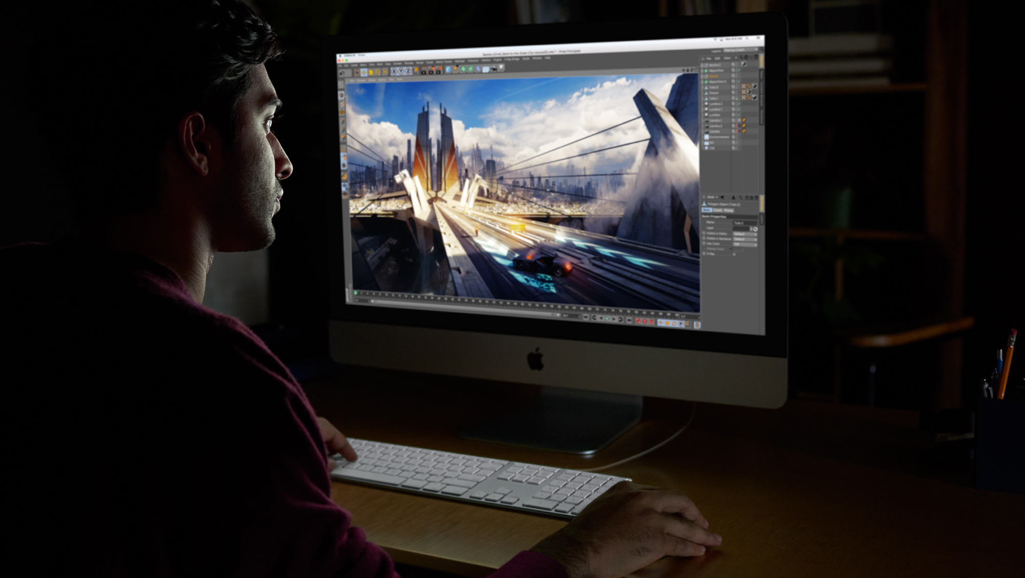 iMac Pro 2017 Video Editing