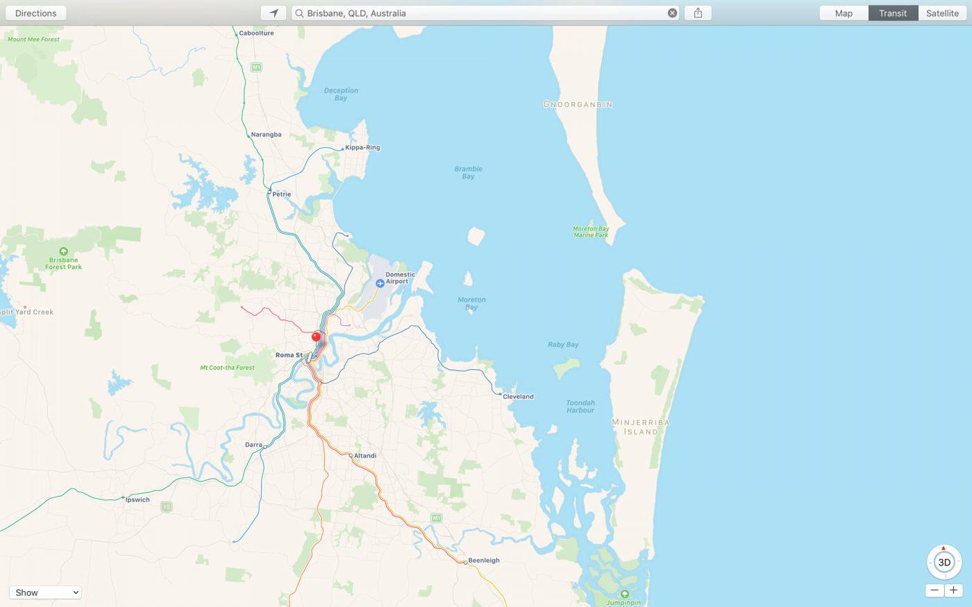 Public Transport In Apple Maps Expanded In Australia | Mac ...