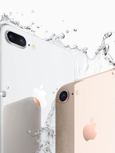Apple iPhone 8 and 8 Plus Splash Australia