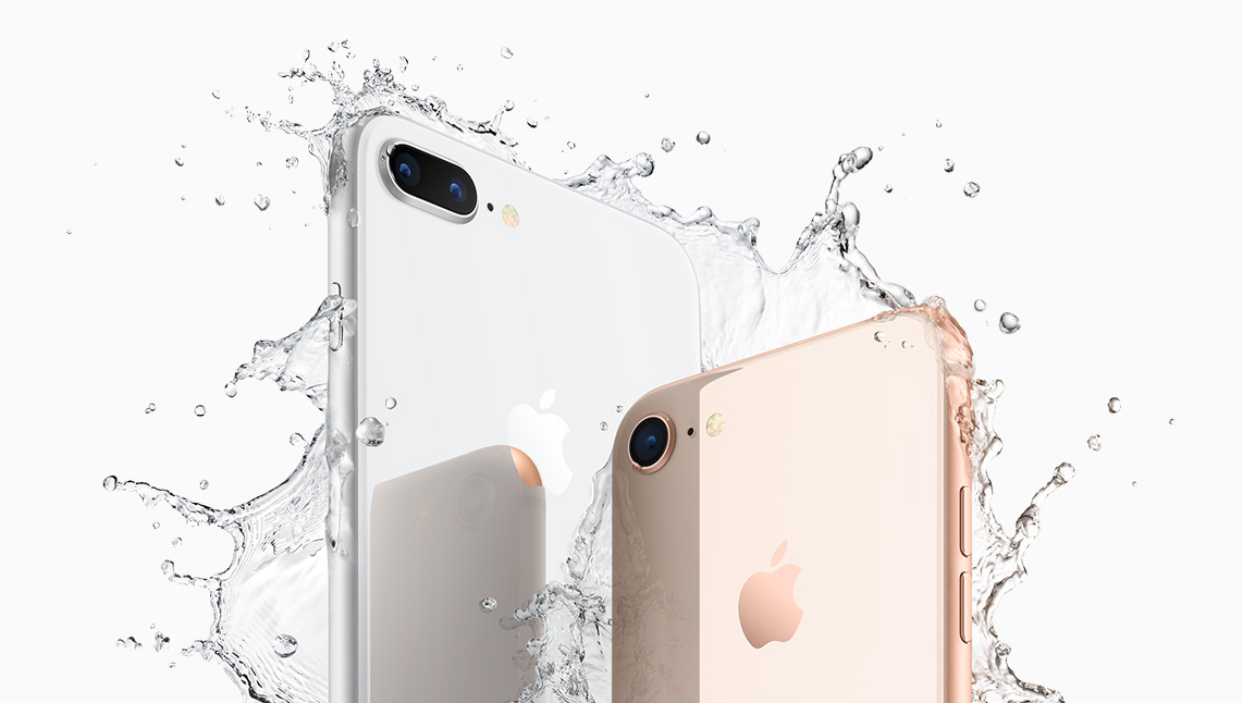 Apple iPhone 8 and 8 Plus Splash Australia