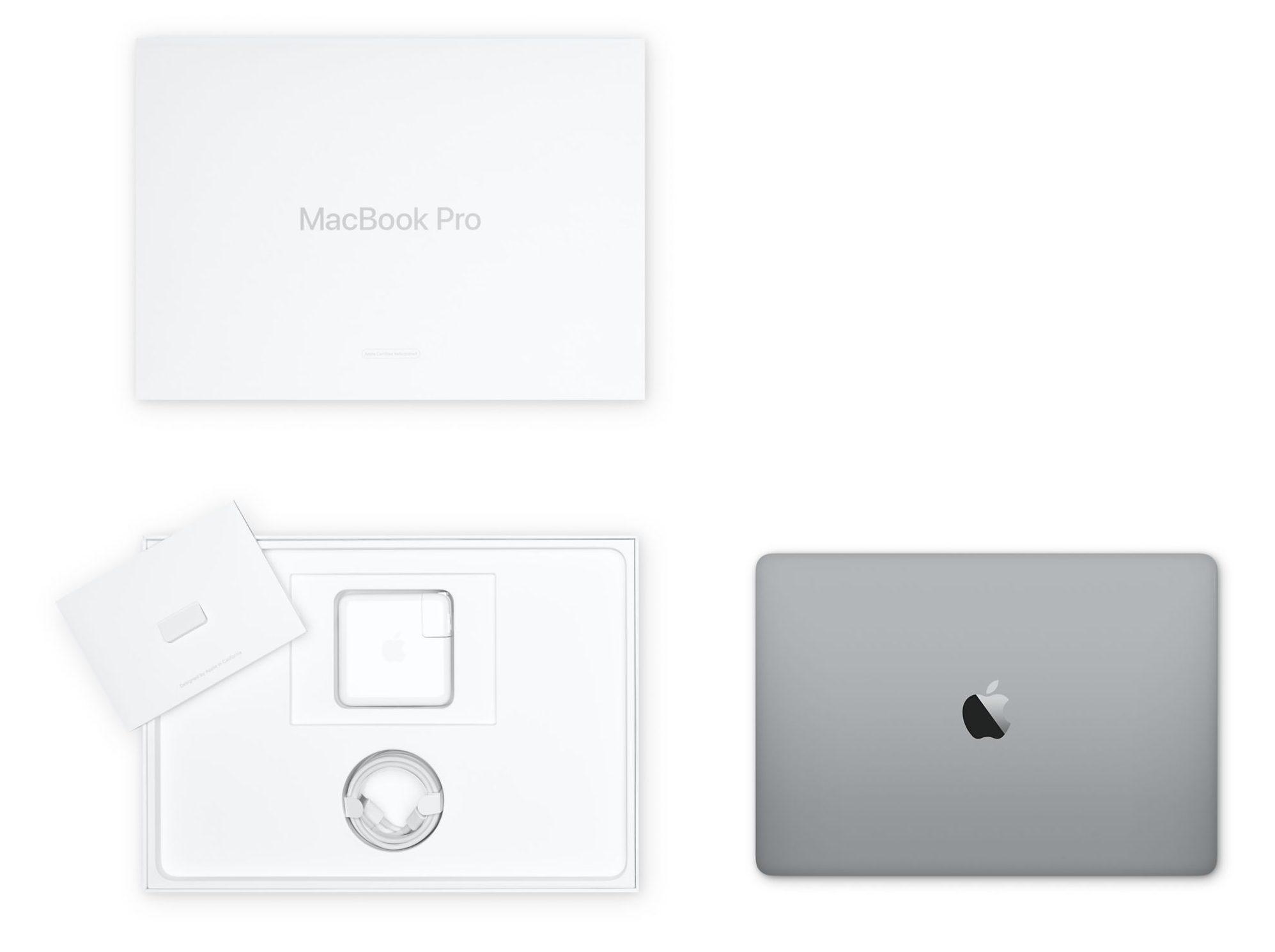 Refurbished MacBook Pro with white box Australia