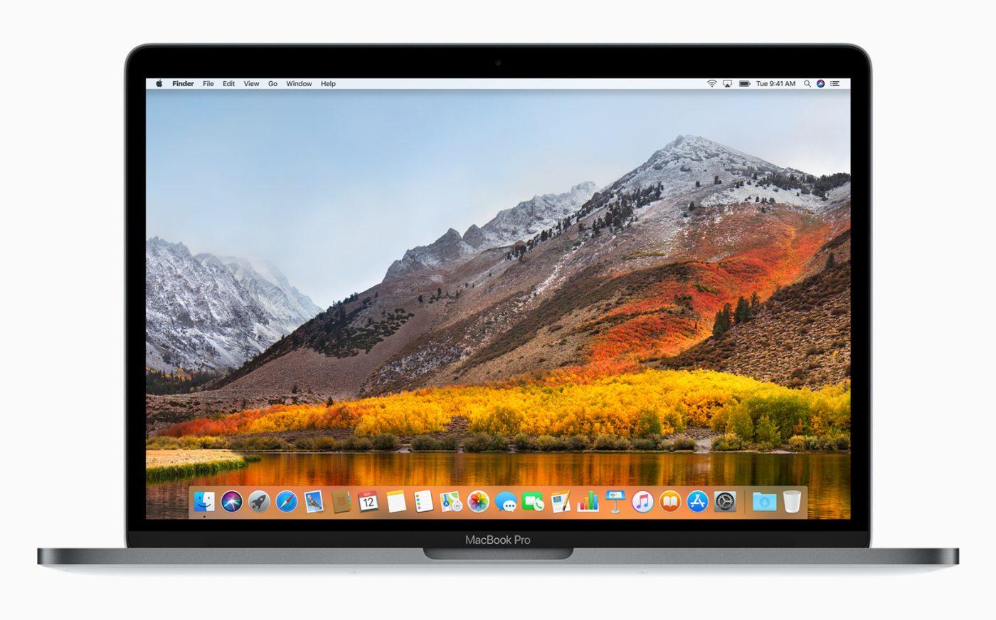 macbook macOS high sierra Australia