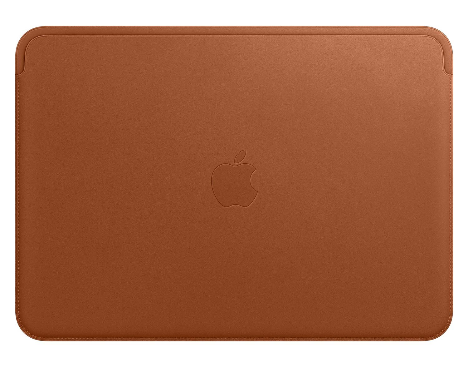 Apple Leather Sleeve for 12 inch MacBook Front in Brown