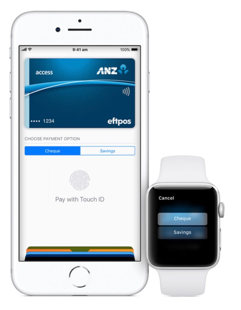 Apple Pay Eftpos ANZ Australia