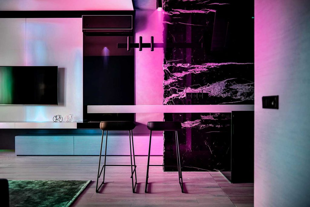 Lifestyle LIFX HomeKit LED Lighting Kitchen Australia