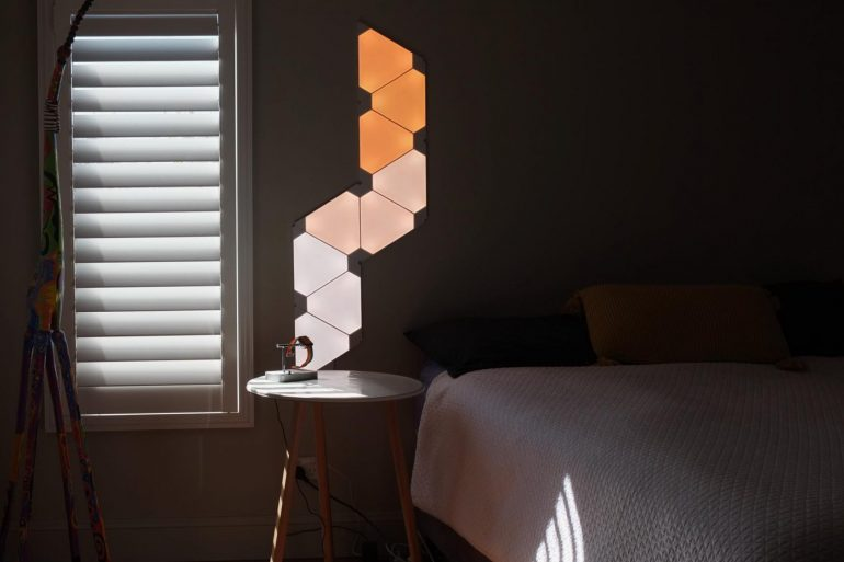 Nanoleaf aurora wall lights Australia